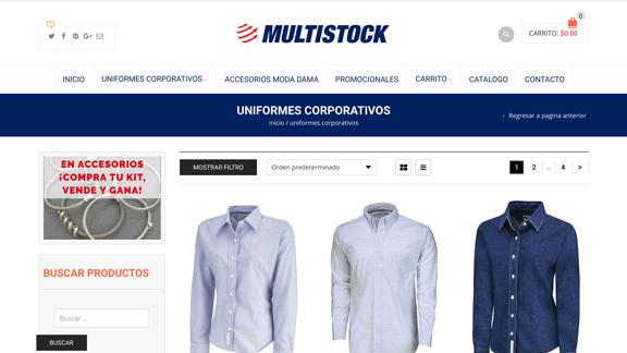Tienda en linea gdl multistock